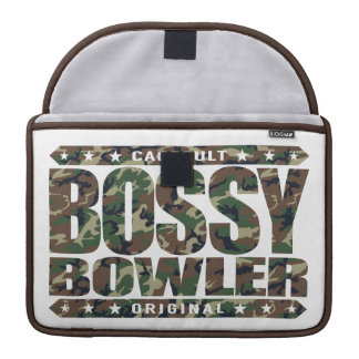 BOSSY BOWLER - Winners Always Aim For Perfect Game MacBook Pro Sleeves