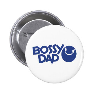 bossy dad button