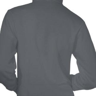 BOSSY Hot Pink/asphalt fleece zip hoodie