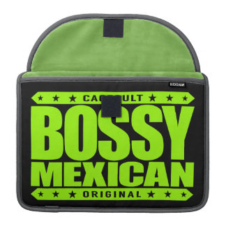 BOSSY MEXICAN - I'm Dominant Ancient Mayan Warrior MacBook Pro Sleeve