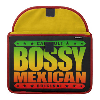 BOSSY MEXICAN - I'm Dominant Ancient Mayan Warrior Sleeve For MacBook Pro