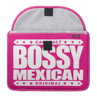 BOSSY MEXICAN - I'm Dominant Ancient Mayan Warrior Sleeve For MacBooks
