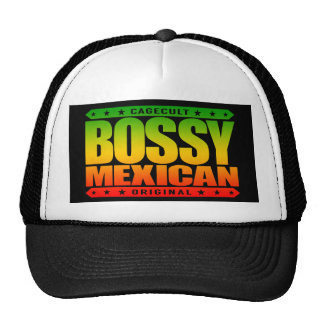 BOSSY MEXICAN - I'm Dominant Ancient Mayan Warrior Trucker Hat