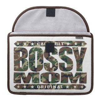 BOSSY MOM - I'm Dominant Domestic Warrior Goddess MacBook Pro Sleeve