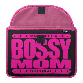 BOSSY MOM - I'm Dominant Domestic Warrior Goddess Sleeve For MacBook Pro