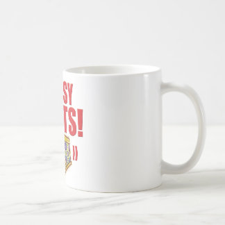 Bossy Pants Flowery Coffee Mug