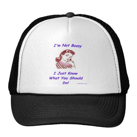 Bossy Trucker Hat
