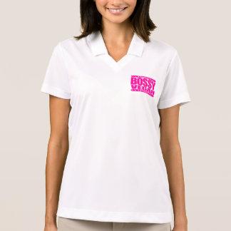 BOSSY VEGAN - World-Dominating, Plant-Based Living Polo Shirt