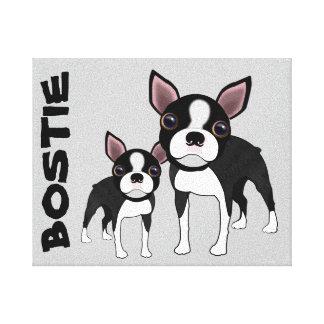 Bosties on canvas print
