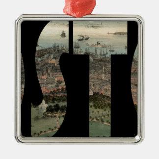 boston1850 metal ornament