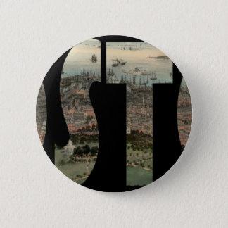 boston1850 pinback button