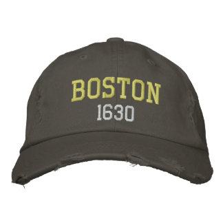 Boston 1630 gorro bordado