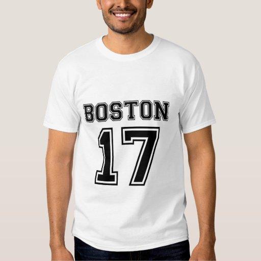 Boston 17 t-shirt