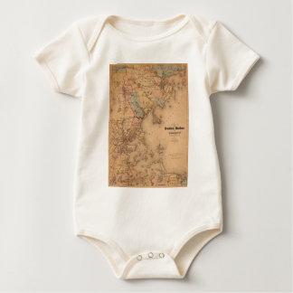 Boston 1861 baby bodysuit