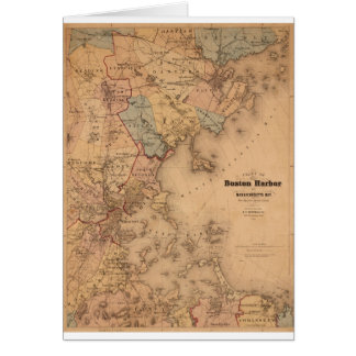 Boston 1861 card