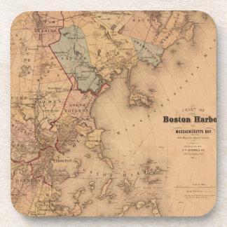 Boston 1861 coaster
