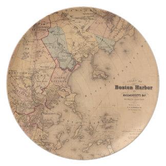 Boston 1861 dinner plate