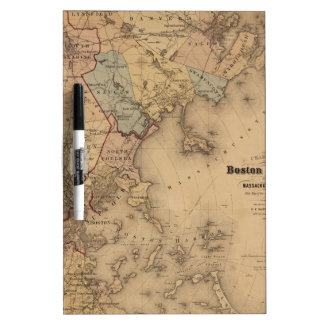 Boston 1861 Dry-Erase board