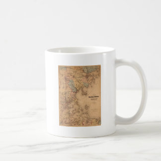 Boston 1861 classic white coffee mug