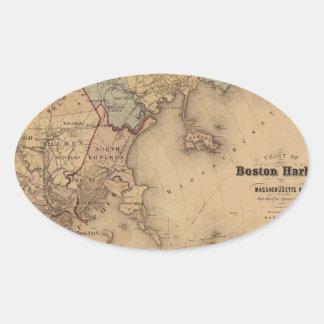 Boston 1861 oval sticker