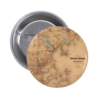 Boston 1861 pinback button