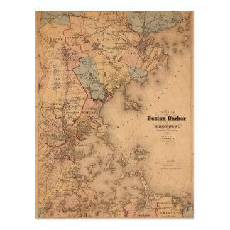 Boston 1861 postcard