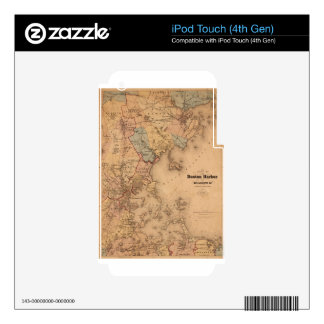 Boston 1861 iPod touch 4G skins