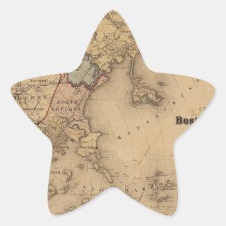 Boston 1861 star sticker