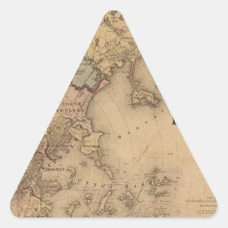 Boston 1861 triangle sticker