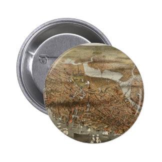Boston 1898 pinback button