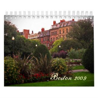 Boston 2009 calendar