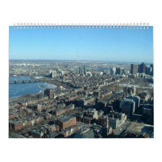 Boston 2010 wall calendar