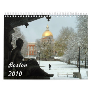 Boston 2010 calendar