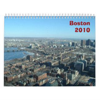 Boston 2010 calendario