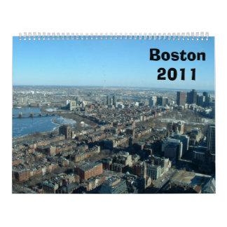 Boston 2011 calendar