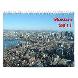 Boston 2011 calendarios de pared
