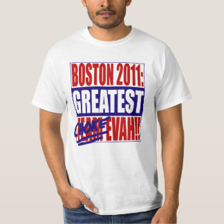 Boston 2011: Greatest Choke Evah! (Light) T-Shirt