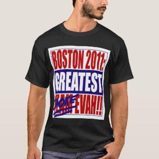 Boston 2011: ¡La obstrucción más grande Evah! Playera