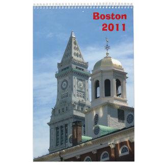 Boston 2011 calendario de pared
