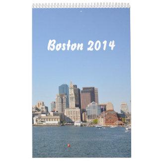 Boston 2014 (1p) calendarios de pared