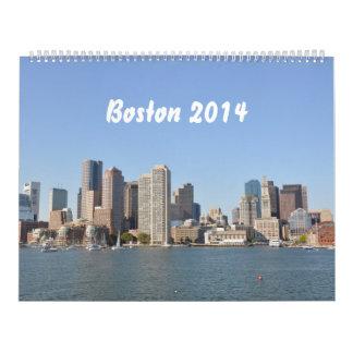 Boston 2014 (2p) calendario de pared