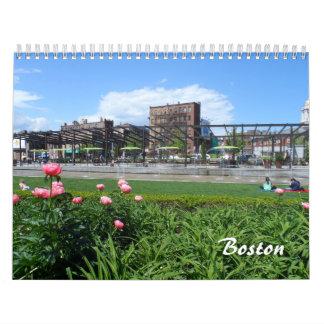 Boston 2016 calendarios