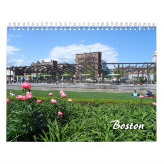 Boston 2018 calendar