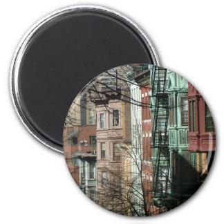 Boston 2 Inch Round Magnet