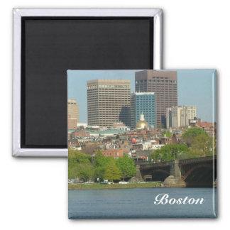 Boston 2 Inch Square Magnet