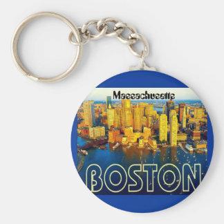 boston 2, Massachusetts Keychain