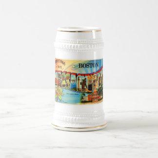 Boston #2 Massachusetts MA Vintage Travel Souvenir Beer Stein