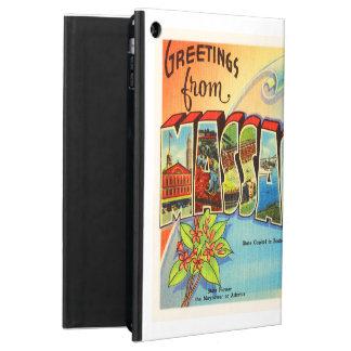 Boston #2 Massachusetts MA Vintage Travel Souvenir iPad Air Case