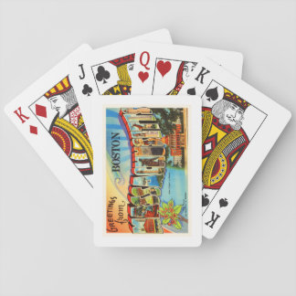 Boston #2 Massachusetts MA Vintage Travel Souvenir Poker Cards