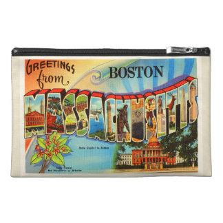 Boston #2 Massachusetts MA Vintage Travel Souvenir Travel Accessory Bag